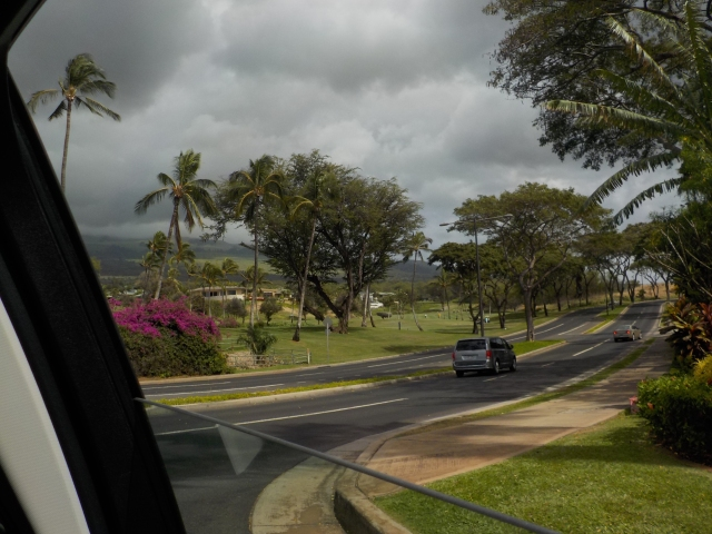 The drive to Wailea