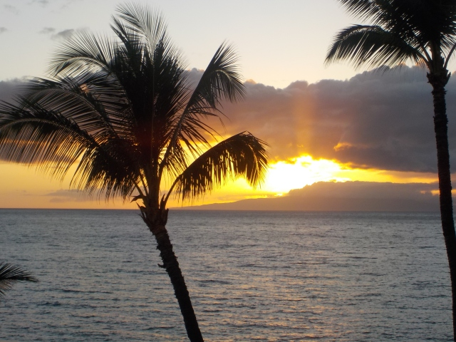 Another beautiful Maui sunset