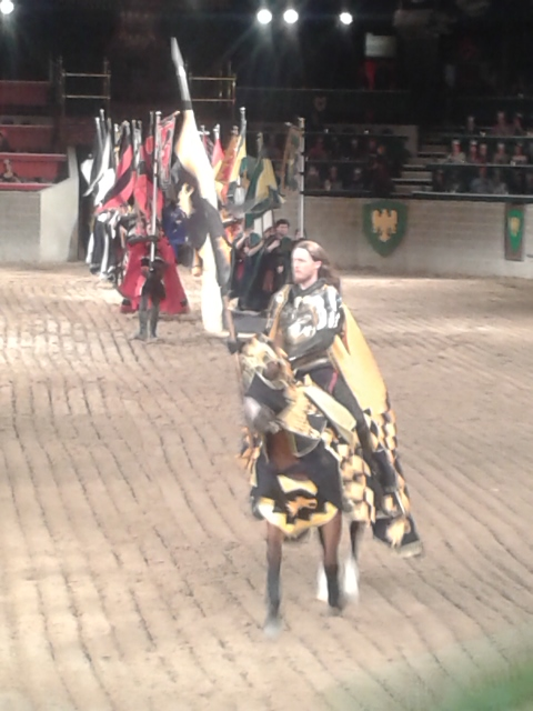 Our yellow knight!