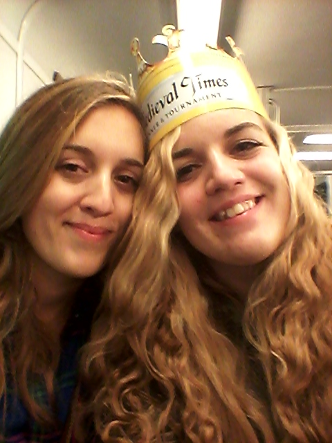 Exhausted on the ride home, but Medieval Times was so worth it!