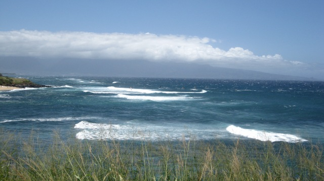 The waves in Paia