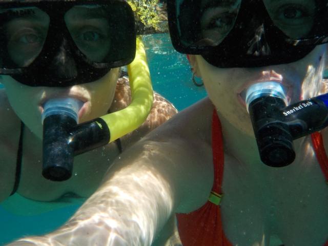 Snorkel selfie....snelfie!