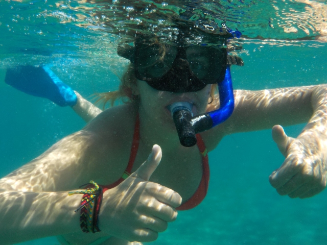 Snorkel portraits are awesome!