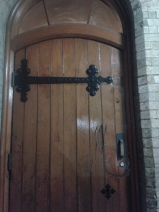 The door from the stonemasons story.
