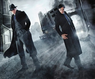 Dr. Jekyll (left) and Mr Hyde (right)