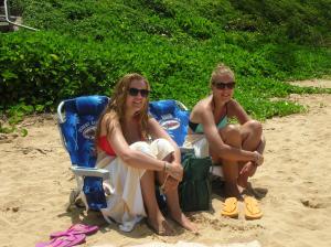 Beach bums!