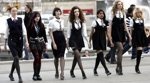 Defenders of anarchy, St Trinian's!