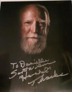 My autograph from Scott Wilson
